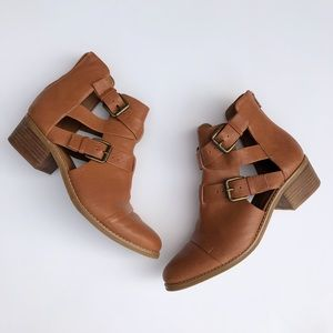 Nine West | Waterloo Leather Ankle Booties